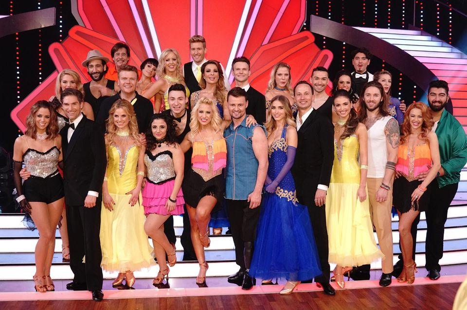 """Die Teilnehmer von """"Let's Dance"""" 2017"""