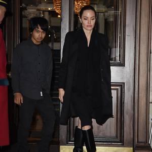 Maddox Jolie-Pitt + Angelina Jolie