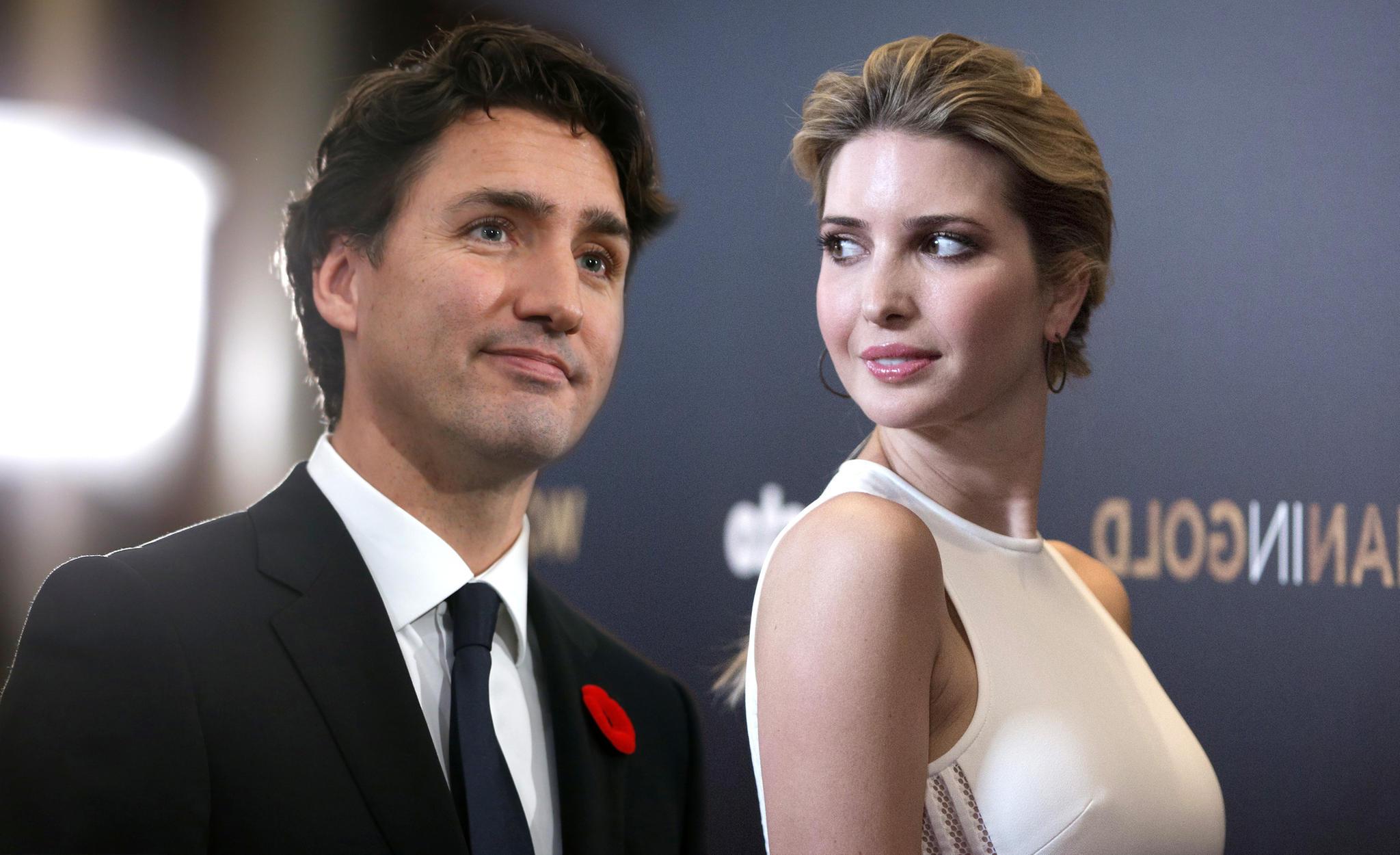 Justin Trudeau und Ivanka Trump