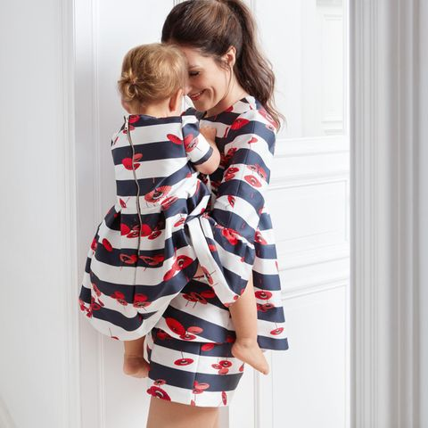 Johanna Klum mit ihrer Tochter