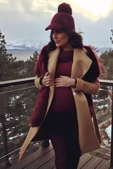 Allzu lange kann es bei Brie Bella nicht mehr dauern. Sie befindet sich mittlerweile in der 32. Schwangerschaftswoche. Kurz vor der Geburt ihres ersten Kindes nimmt die Wrestling-Diva nochmal eine Auszeit am Lake Tahoe und entspannt in der Natur.