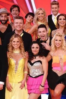 """Die """"Let's Dance""""Teilnehmer 2017."""