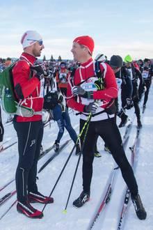 Topfit: Prinz Haakon von Norwegen, Prinz Frederik von Dänemark