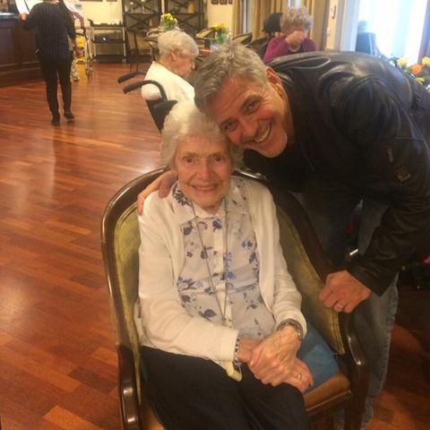Pat Adams, George Clooney