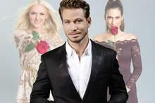 Erika (l.) und Clea-Lacy kämpfen um das Herz Sebastian Pannek, dem Bachelor 2017