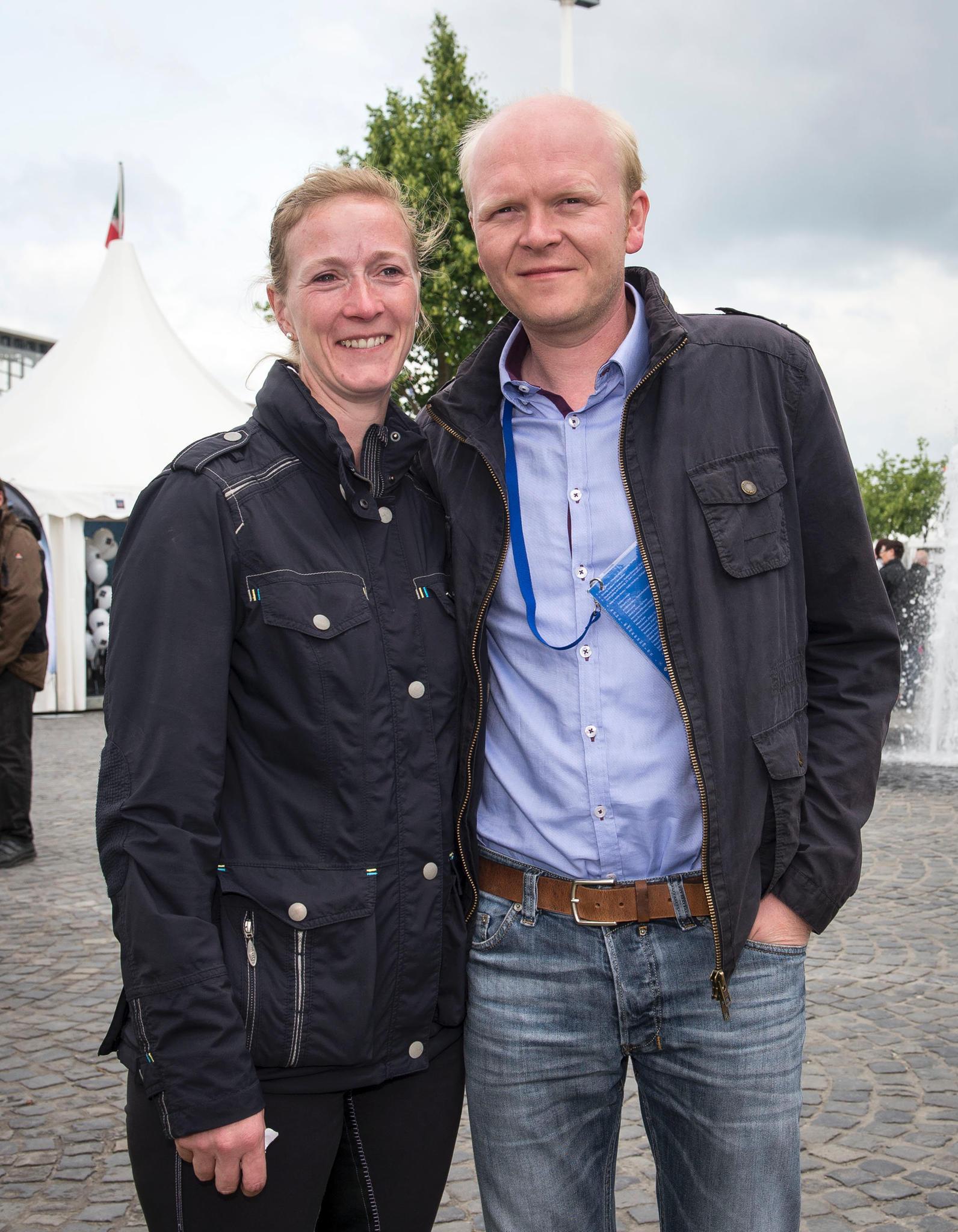 Prinzessin Nathalie zu Sayn-Wittgenstein-Berleburg und ihr Mann, Alexander Johannsmann