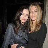 """Courteney Cox und Jennifer Aniston  Die ehemaligen Co-Stars der Serie """"Friends"""" sind enge Freunde..."""