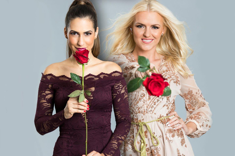 """""""Der Bachelor"""" Finalistinnen Clea-Lacy und Erika."""