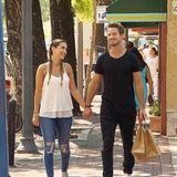 Clea-Lacy und Sebastian beim Shopping-Date.