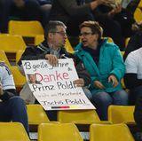 """Fans bedanken sich: """"13 geile Jahre. Danke Prinz Poldi!"""""""