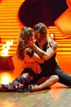 """Ekaterina Leonova und Gil Ofarium in der zweiten Folge von """"Let's Dance"""" 2017"""
