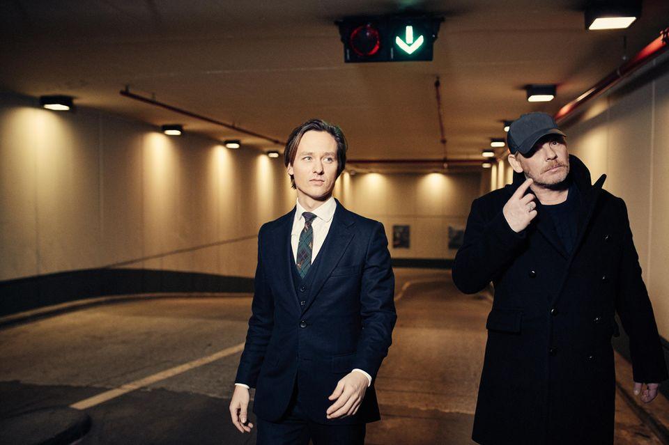 Tom Schilling und Ben Becker