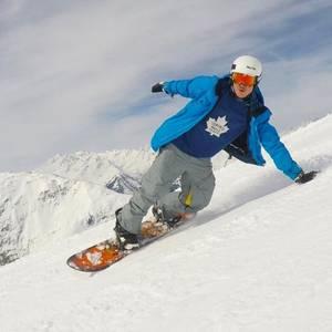 Hättet Ihr gewusst, dass Samu Haber so gut snowboarden kann?