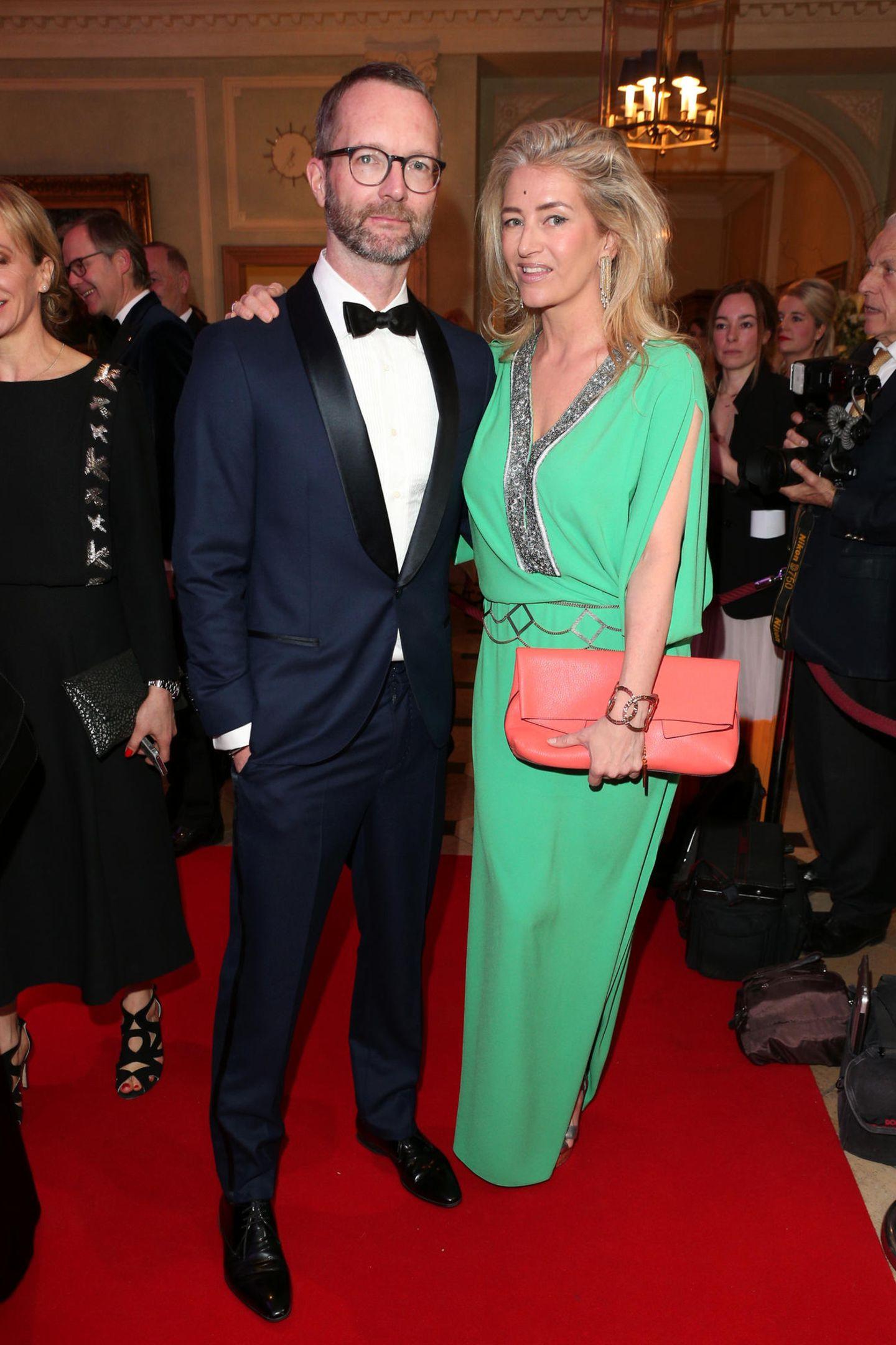 Marcus Luft (stellv. Chefredakteur Mode/Beauty) und Hili Ingenhoven (GALA Society Kolumnistin) feiern gemeinsam die GALA SPA AWARDS.