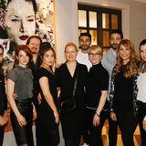 Das Team von La Biosthétique verschönert allen Gästen des GALA SPA AWARDS die Haare.