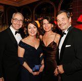 Joachim Lubig(Coty), Sybille Lubig, Michael Betzelt (E.A. Cosmetics) und Nicole Bruch-Betzelt