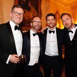 Oliver Wriedt (Cartier), Marcus Luft (GALA) und Johannes Scheer (BPI)