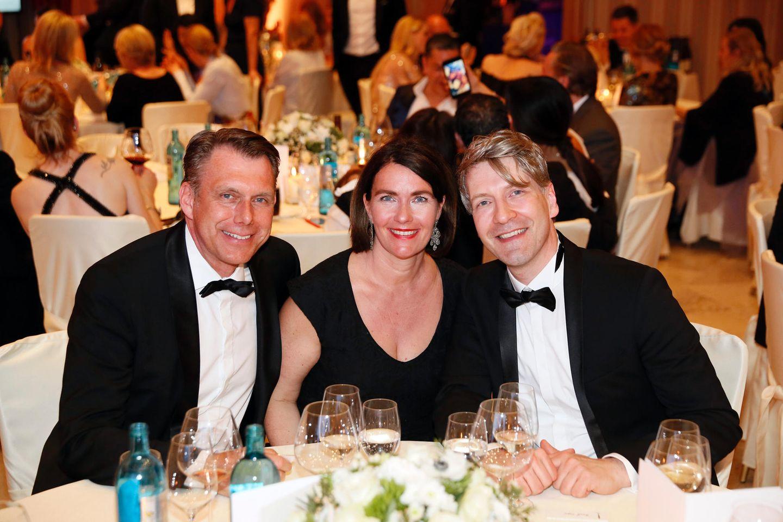 Markus Grefer (PUIG), Cornelia Grefer und Frank Vogel (Gruner+Jahr EMS)