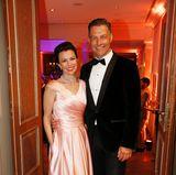 Carola Schummert undMichael Schummert (Babor) freuen sich auf den Abend.