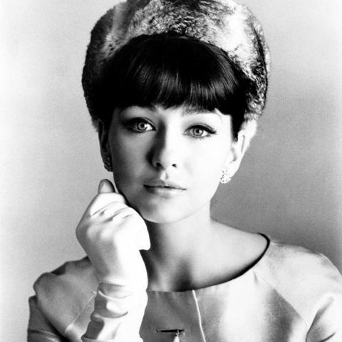 """1964  Christine Kaufmann beim Fototermin zum Film """"Wild and Wonderful""""."""