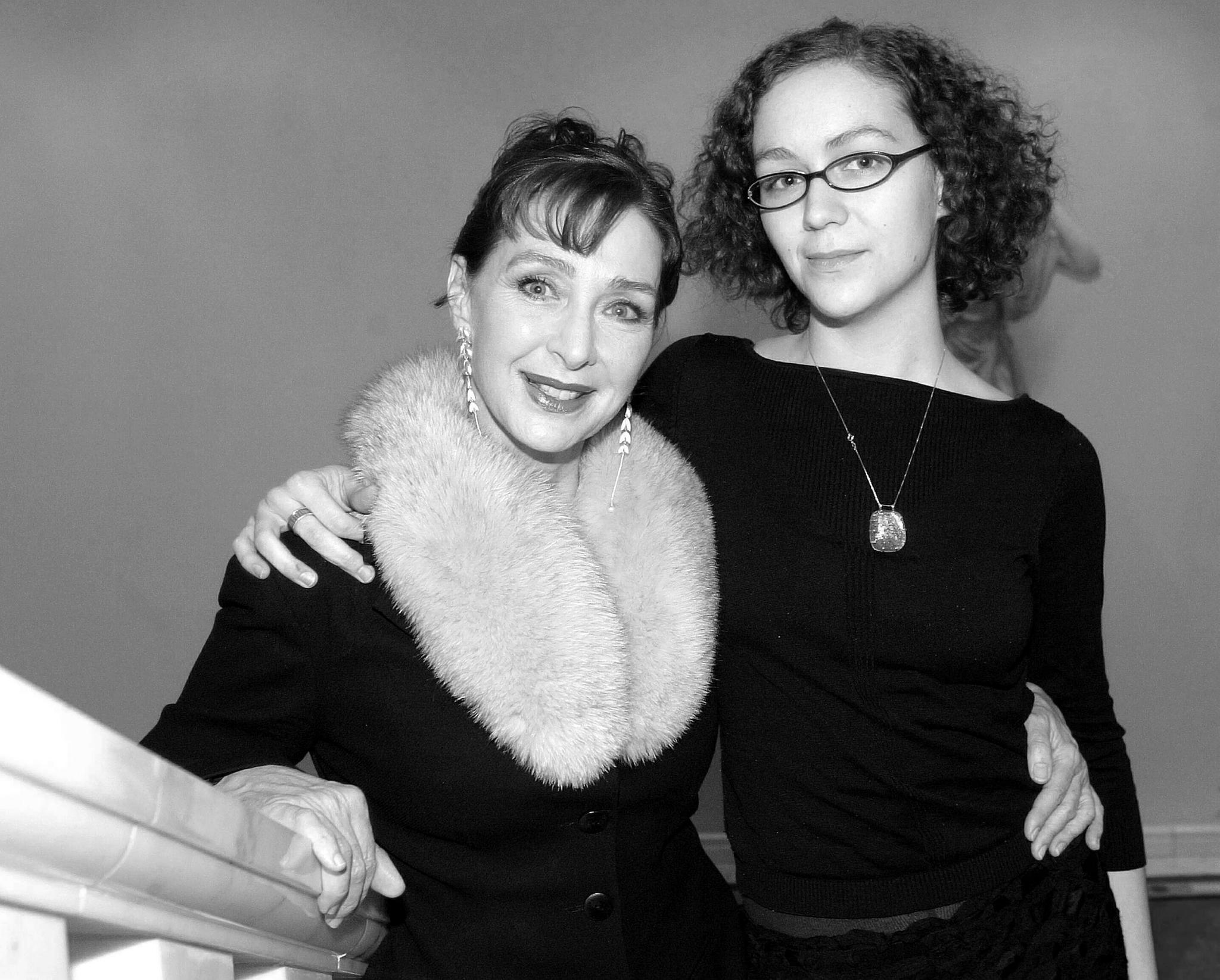 Christine Kaufmann und ihre Enkelin Dido Sargent