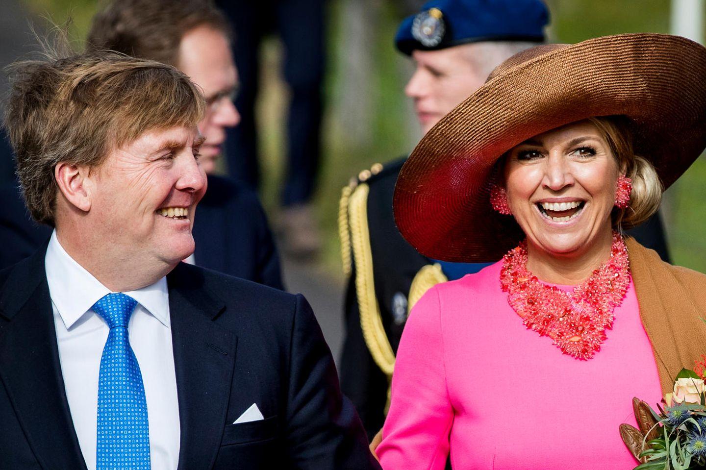 König Willem-Alexander, Königin Máxima