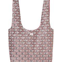 Stilbruchwunder: Beutelbag im Glamour-Outfit. Von Luisa Cerano, ca. 180 Euro