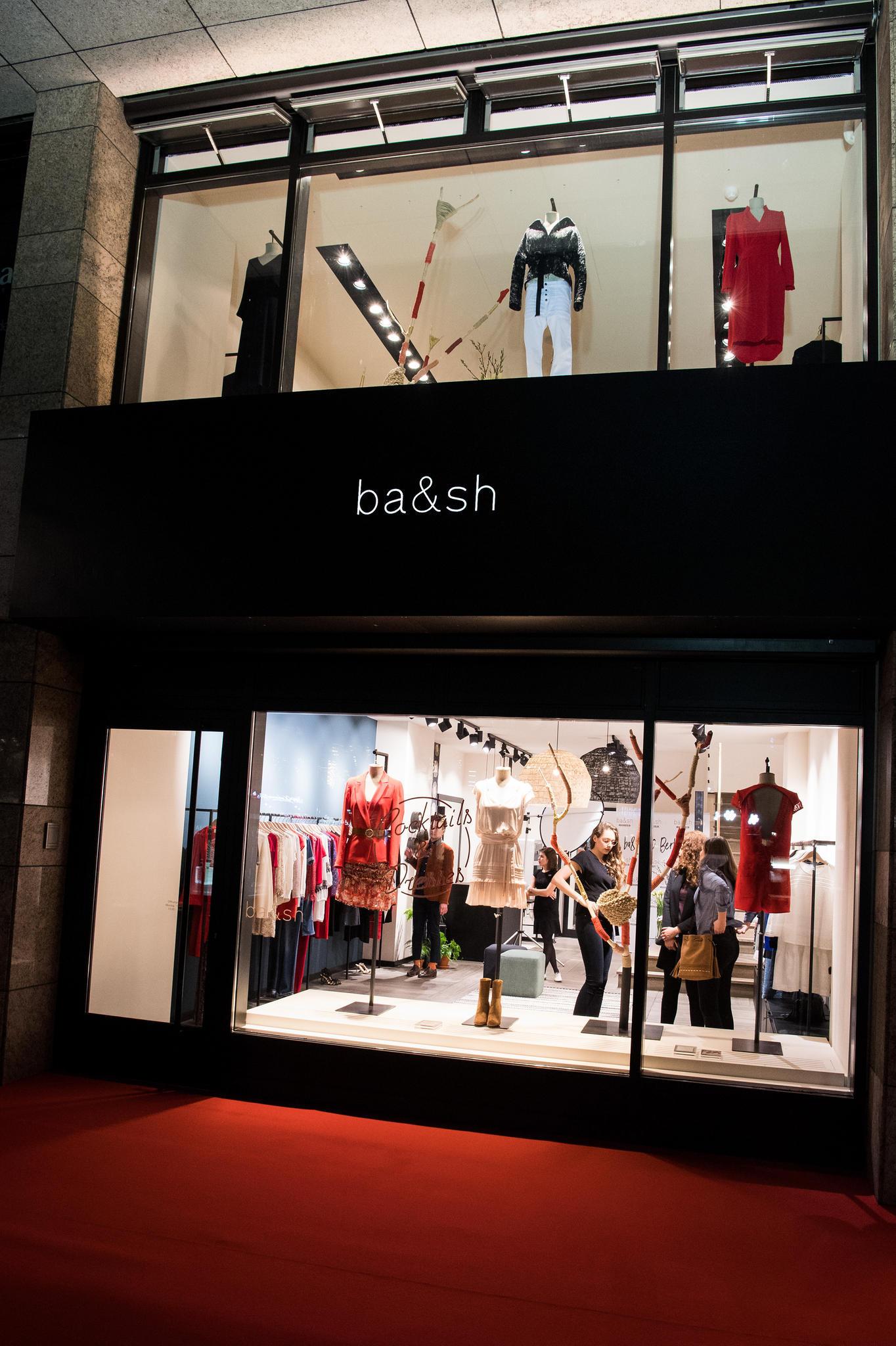 Eröffnung des ba&sh-Stores