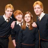 """In den """"Harry Potter""""-Filmen fallen die Weasley-Zwillinge besonders durch ihre Sprüche und Scherze auf - und durch ihr leuchtend rotes Haar. Fred und George werden in allen Filmen von den Briten James und Oliver Phelps verkörpert und passen in allen Teilen optisch perfekt zu ihrem Film-Bruder Ron (Rupert Grint)."""