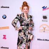 Dieses hübsche Kleid können sich alle leisten! Palina Rojinski trug zur Verleihung der Jupiter Awards ein hübsches Kleid aus der H&M Trend-Kollektion für nur 69 Euro.