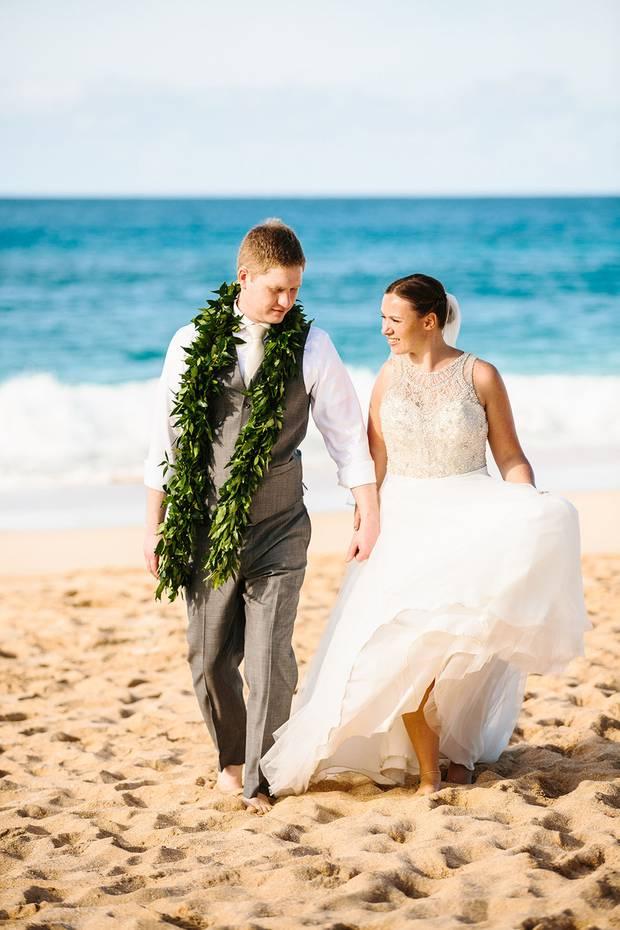 Was für eine Kulisse! Konny Reimanns Tochter Janina hat ihren Verlobten Coleman auf Hawaii geheiratet. Die Hochzeitssendung wurde am Montag, den 3. April auf RTL II ausgestrahlt.