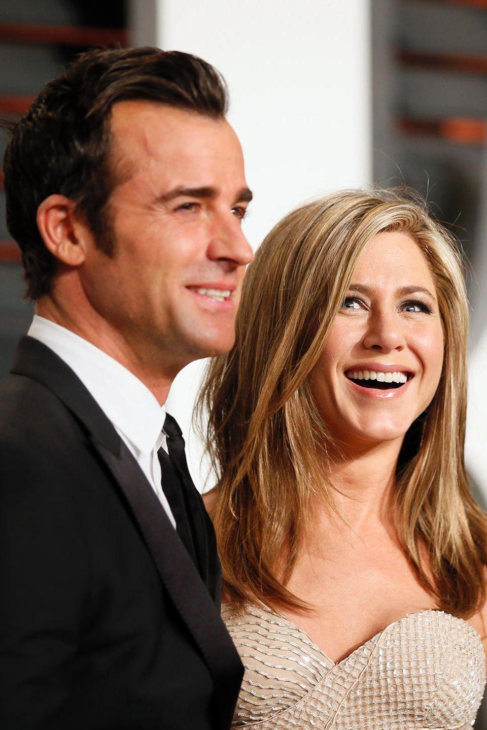 Justin Theroux + Jennifer Aniston