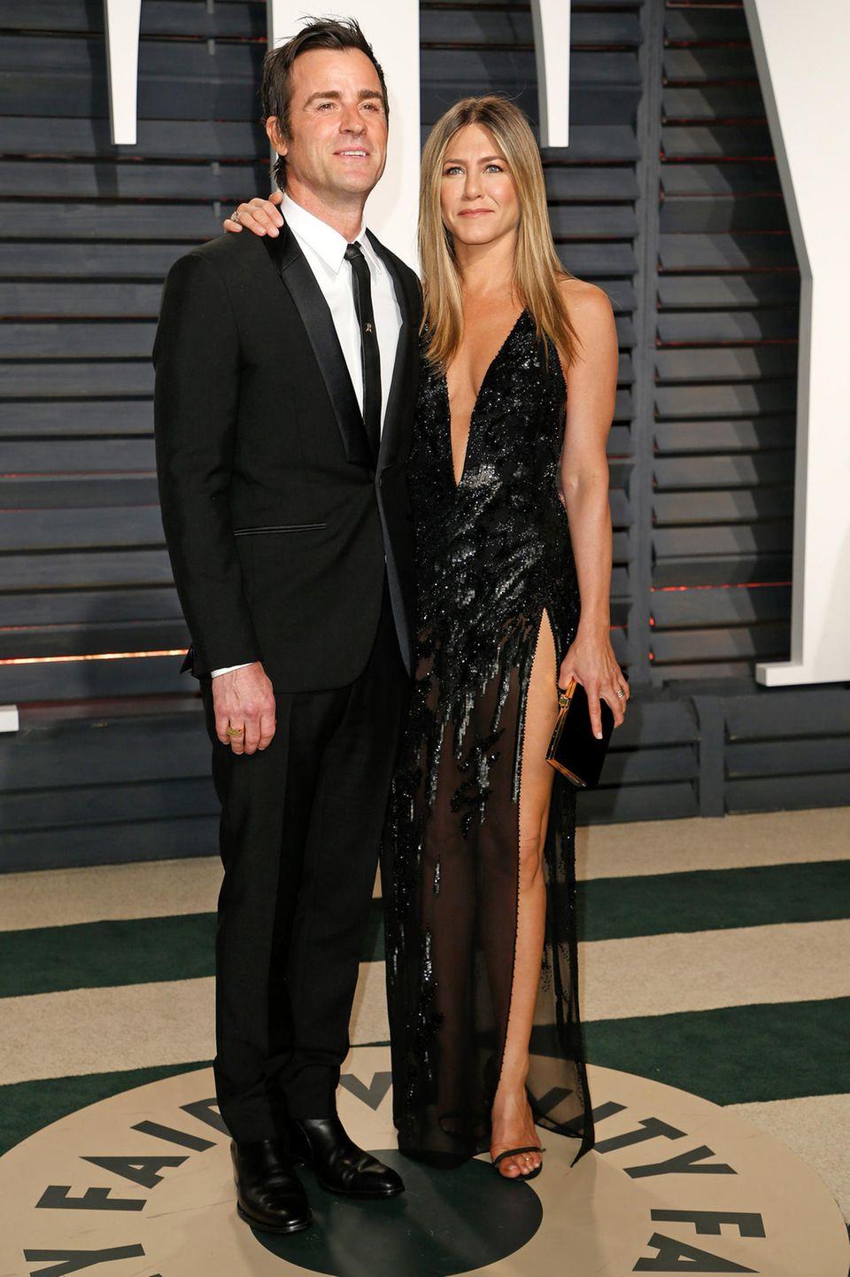 Liebespartner und Freunde: Jennifer und Justin zeigen auch auf dem roten Teppich, wie das aussieht.