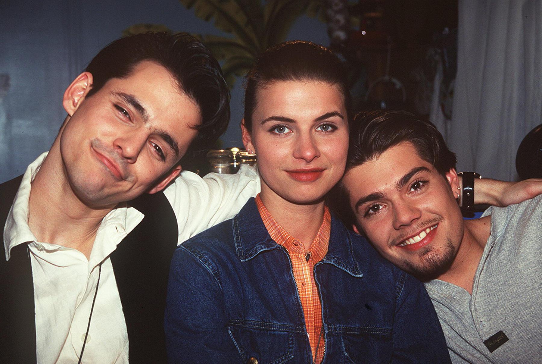 Ralf Benon (spielte Fabian Moreno), Anne Brendler (Vanessa Moreno) und Daniel Fehlow (Leon Moreno) spielten in GZSZ Geschwister.