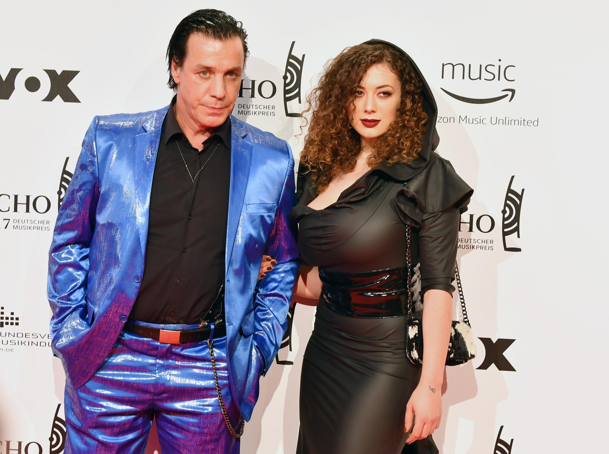 Till Lindemann mit Leila Lowfire
