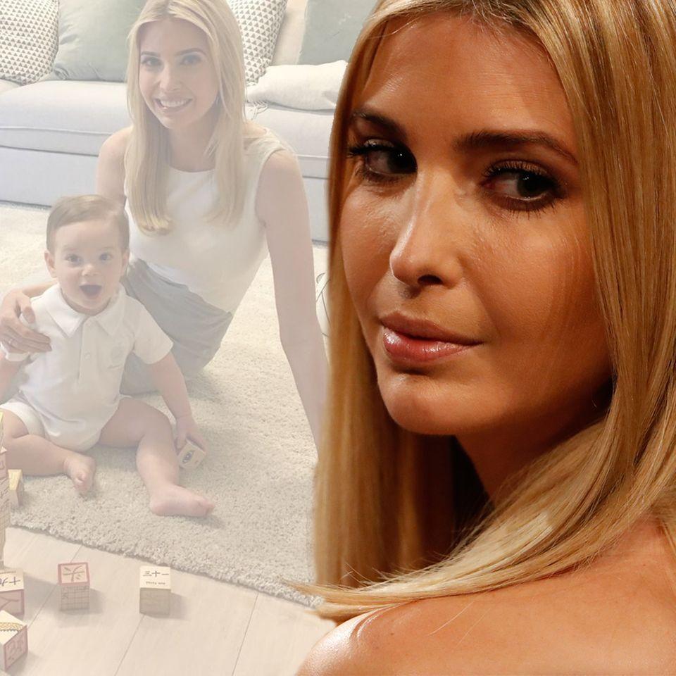 Ivanka Trump und Sohn Theodore Kushner