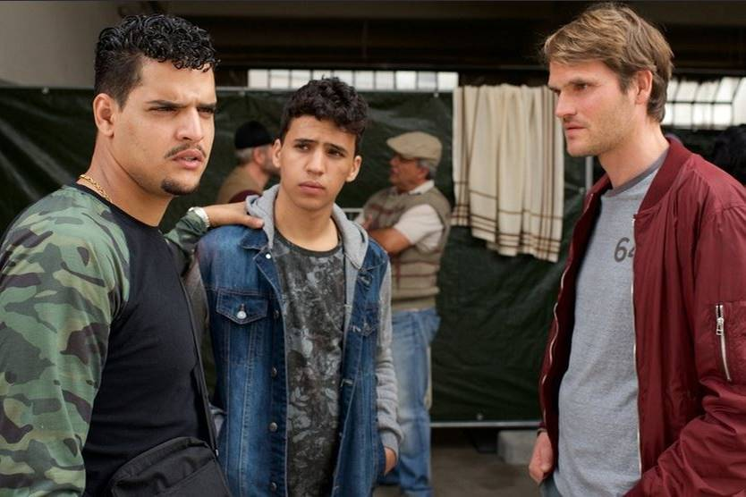 Yasin El Harrouk, Mohammed Issa und Fabian Hinrichs.