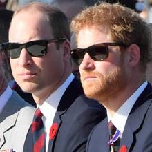 Prinz Charles + Prinz William + Prinz Harry