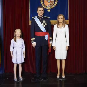 Kronprinzessin Leonor, König Felipe, Königin Letizia