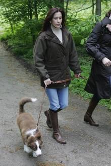 Prinzessin Mary ging oft mit Ziggy spazieren.