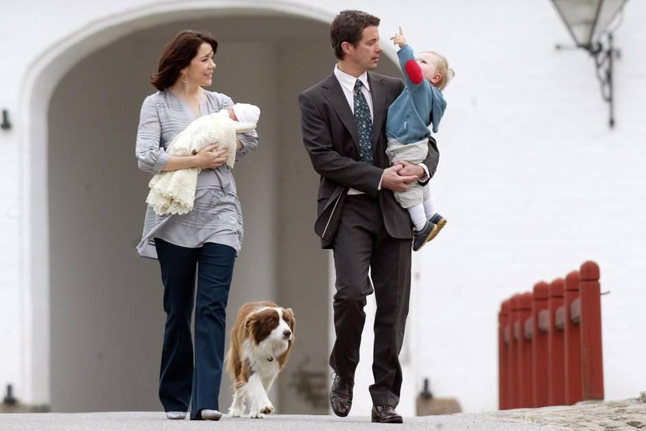 Prinzessin Mary, Prinz Frederik, Hund Ziggy