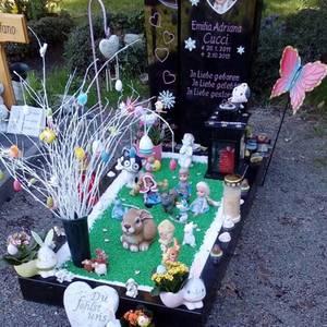 Das Grab von Emilia Adriana