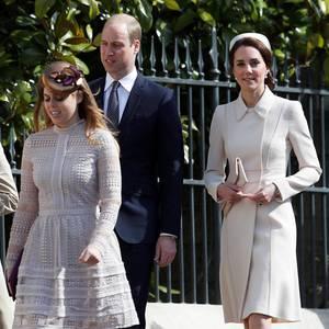 16. April 2016  Prinz William und Herzogin Catherine waren im letzten Jahr nicht beim Gottesdienst in Windsor dabei. Diesmal sind sie beim Familienevent dabei.