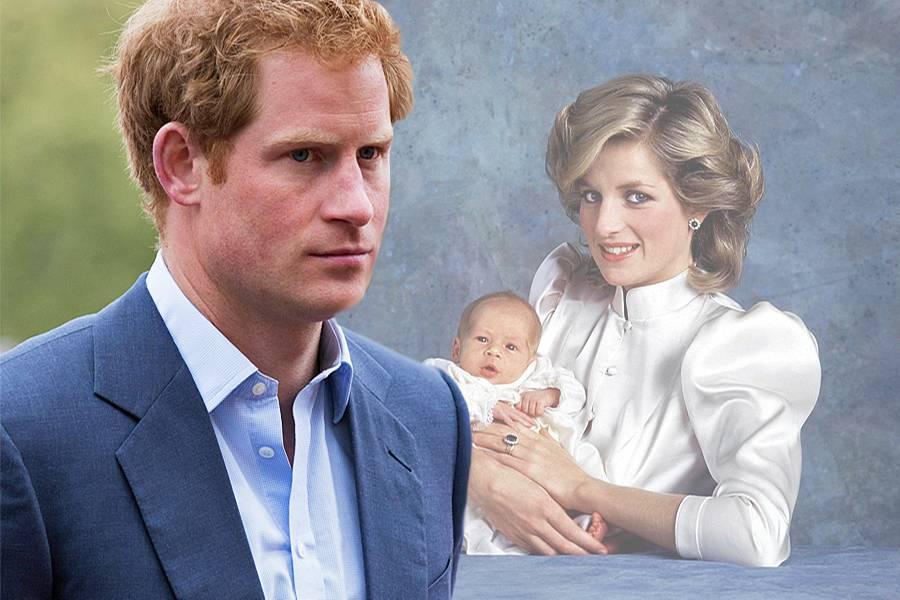 Prinz Harry + Prinzessin Diana (†)