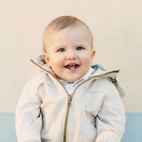 """""""Heute ist Prinz Alexander 1 Jahr. Alles Gute zum Geburtstag!"""", lautet der offizielle Kommentar zum Foto"""