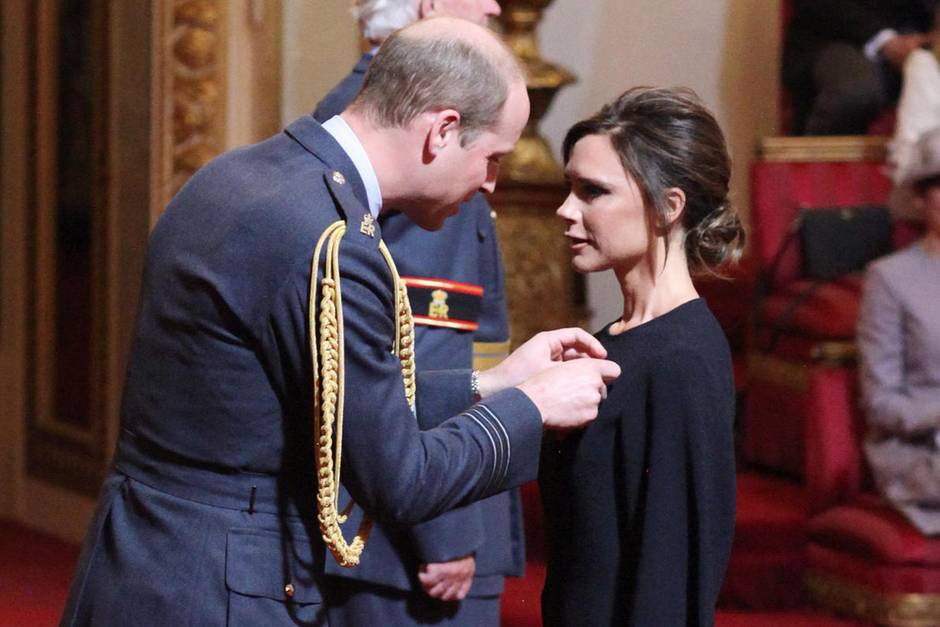 Prinz William, Victoria Beckham