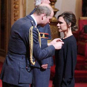Prinz William, Victoria Beckham