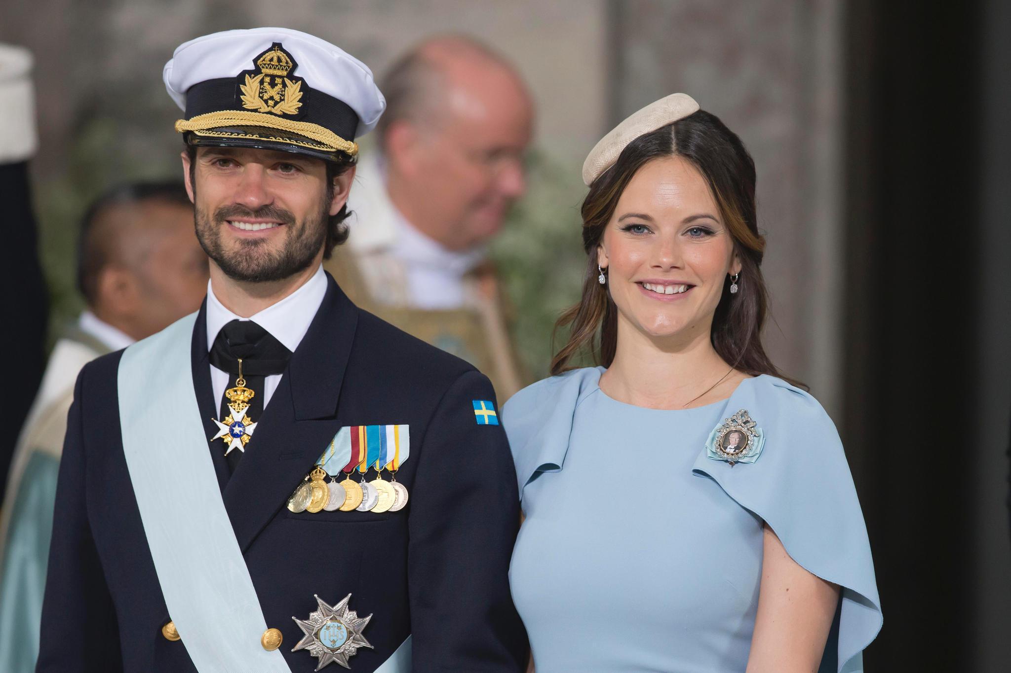 Prinz Carl Philip Prinzessin Sofia Mit dem zweiten Kind