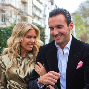 Sylvie Meis und Charbel Aouad
