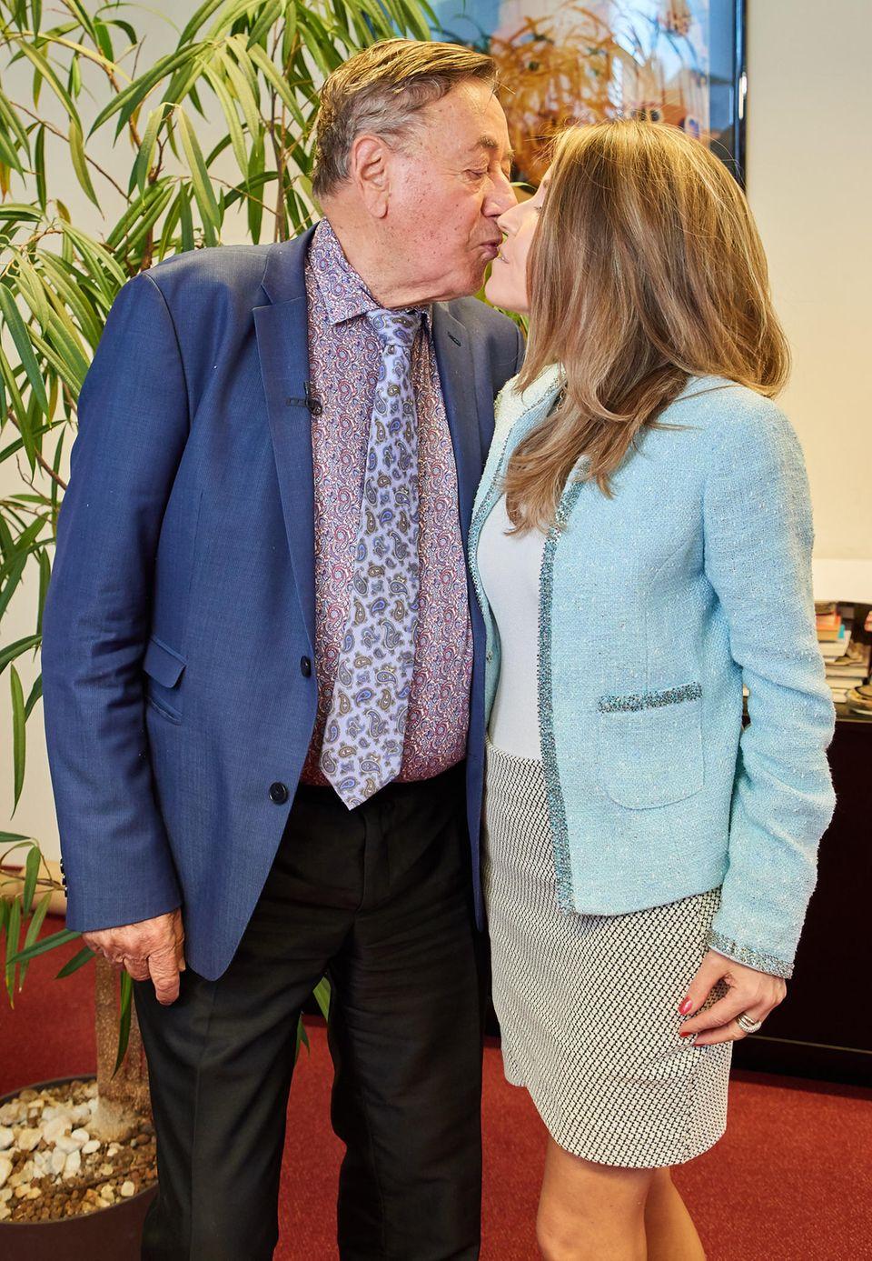 Richard Lugner und seine Andrea